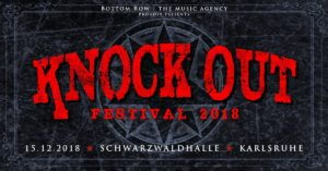 Knock Out Festival - Karlsruhe 2018