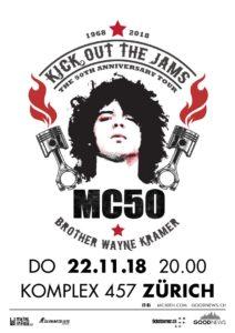 MC50 - Komplex 457 Zürich 2018