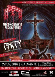 Messiah - Galvanik Zug 2018 (Reunion Show)