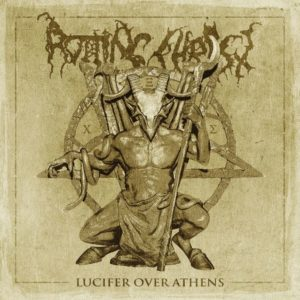 Rotting Christ - Lucifer Over Athens (CD Cover Artwork)