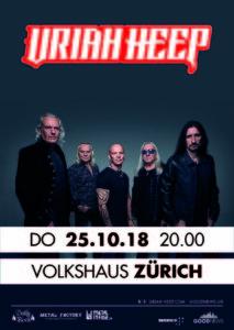 Uriah Heep - Volkshaus Zürich 2018