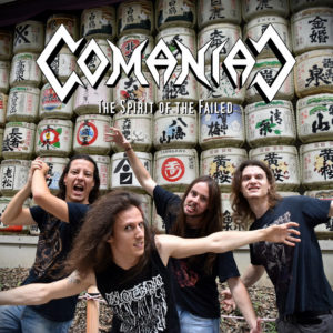 COMANIAC - The Spirit Of The Failed Cover Artwork