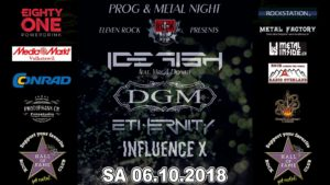 Eleven Rock - Prog & Metal Night - Hall of Fame Wetzikon 2018