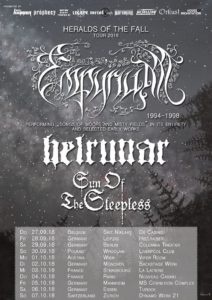 Empyrium, Helrunar und Sun Of The Sleepless - Dynamo Werk 21 Zürich 2018
