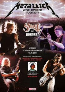 Metallica - Letzigrund Zürich 2019