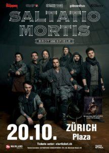 Saltatio Mortis - Plaza Zürich 2018