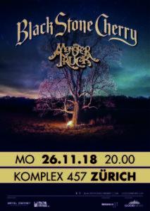 Black Stone Cherry - Komplex 457 Zürich 2018