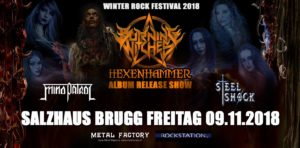 Burning Witches - Salzhaus Brugg 2018