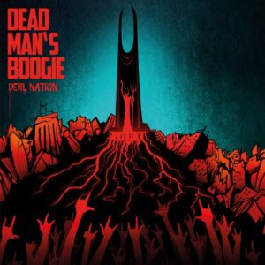Dead Man's Boogie – Devil Nation (CD Cover Artwork)