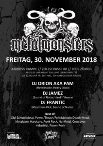 Metal Monsters Vol. XIV 2018 11 30 pam