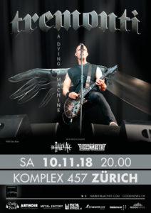 Tremonti - Komplex 457 Zürich 2018