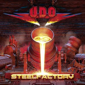 U.D.O. - Steelfactory (CD Cover Artwork)