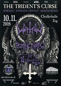 Watain - Chollerhalle Zug 2018