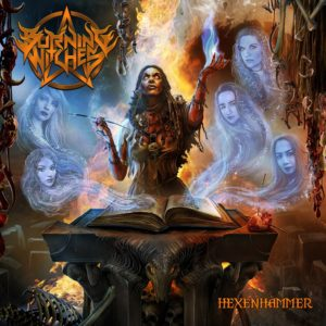 Burning Witches - Hexenhammer (CD Cover Artwork)