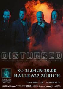 Disturbed - Halle 622 Zürich 2019