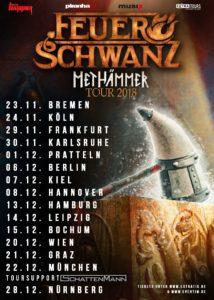 Feuerschwanz - Z7 Pratteln - Tour 2018