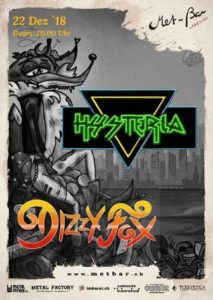 Hysteria - Met-Bar Lenzburg 2018