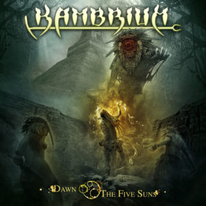 Kambrium – Dawn of the Five Suns (Album Cover Artwork)