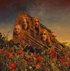 Opeth - Garden of the TitansLive at Red Rocks Amphitheatre (CD Cover Artwork)