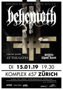 Behemoth - Komplex 457 Zürich 2019