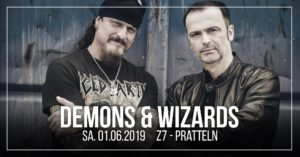 Demons & Wizards - Z7 Pratteln 2019