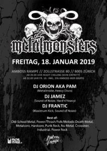 Metal Monsters Vol. XV - Amboss Rampe - 18. Januar 2019
