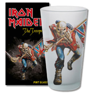 Metalinside.ch-Shop - Iron Maiden - Bierglas