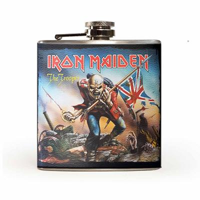 Metalinside.ch-Shop - Iron Maiden - Flachmann
