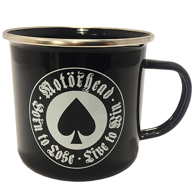 Metalinside.ch-Shop - Motörhead - Stahlblech Tasse Born To Loose