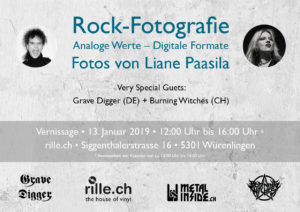 Rock-Fotografie - Vernissage - Rille 2018