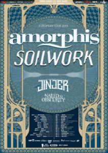 Amorphis - European Tour 2019 all Dates