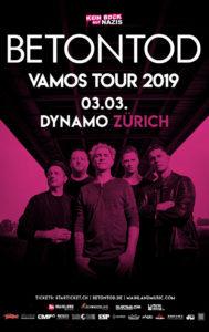 Betontod - Dynamo Zürich 2019 (Flyer)
