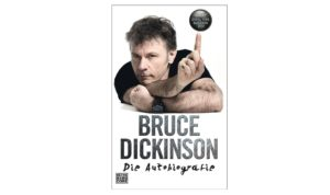 Bruce Dickinson - What does this button do - Autobiographie (Buch Cover Artwork).