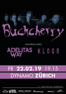 Buckcherry - Dynamo Zürich 2019