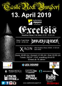 Castle Rock Burgdorf 2019 - Flyer