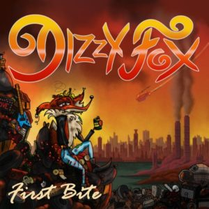 Dizzy Fox – First Bite (CD Cover Artwork)