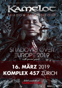 Kamelot - Komplex 457 Zürich 2019 (Flyer)