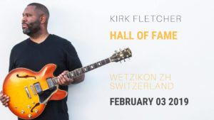 Kirk Fletcher - Hall of Fame Wetzikon 2019 (Flyer)