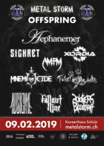 Metal Storm Offspring 2019 - Schuur Luzern - Flyer