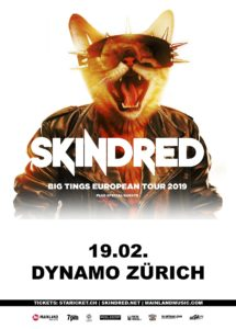 Skindred - Dynamo Zürich 2019 (Flyer)