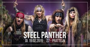 Steel Panther - Z7 Pratteln 2019