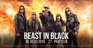 Beast in Black - Z7 Pratteln 2019