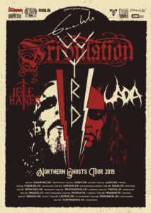 Northern Ghosts Tour - Gaahl's Wyrd - Gaswerk Winterthur 2019