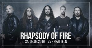 Rhapsody of Fire - Z7 Pratteln 2019