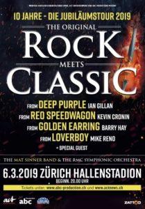 Rock Meets Classic 2019 - Hallenstadion Zürich