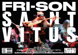Saint Vitus - Fri-Son Fribourg 2019 (Flyer)