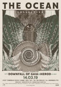 The Ocean - Post Tenebras Rock Usine Genève 2019 (Flyer)