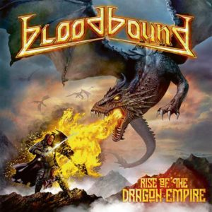 Bloodbound - Rise Of The Dragon Empire (CD Cover Artwork)