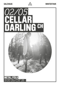 Cellar Darling - Salzhaus Winterthur 2019 (Flyer)