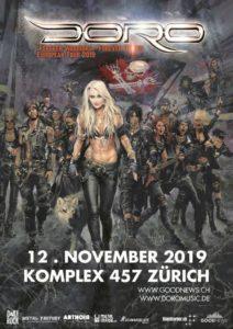 Doro - Komplex 457 Zürich 2019 (Plakat)